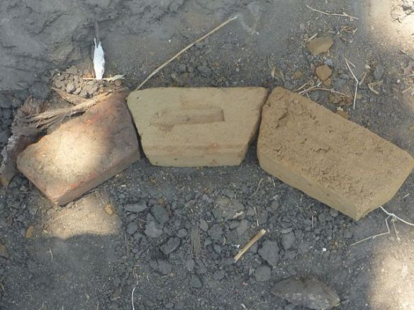 Trapezium Shaped bricks